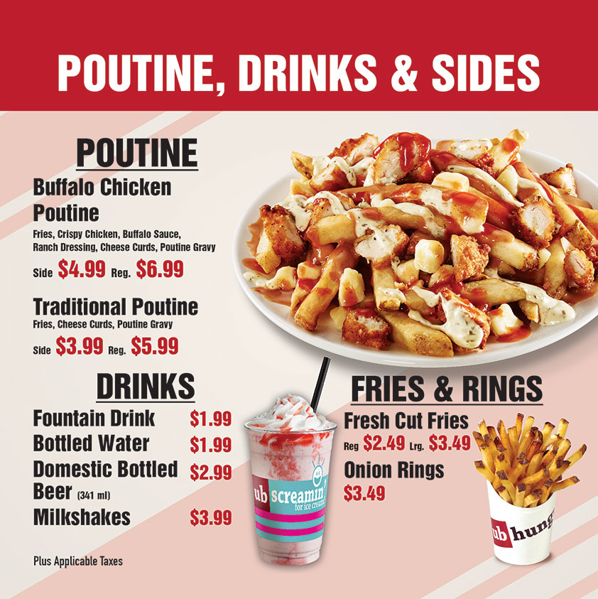 Top fries and poutine restaurant